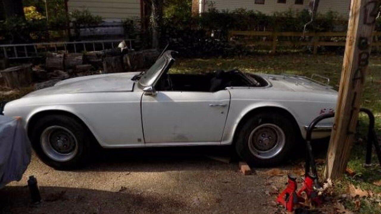 1976 Triumph TR6 for sale near Cadillac, Michigan 49601 - Classics ...