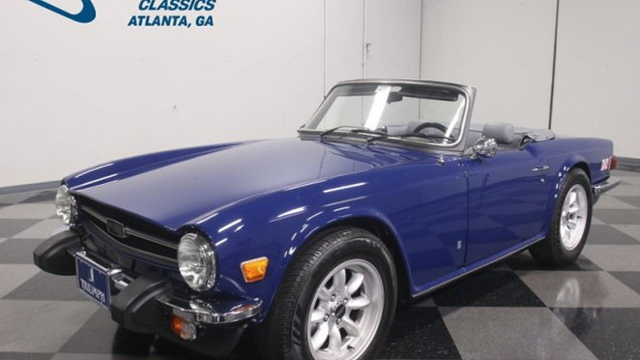 1976 Triumph TR6 for sale near Lithia Springs, Georgia 30122 ...