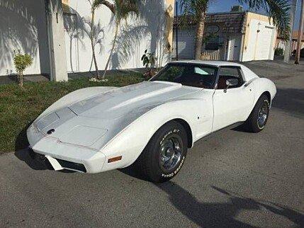 1976 chevrolet Corvette for sale 100829561