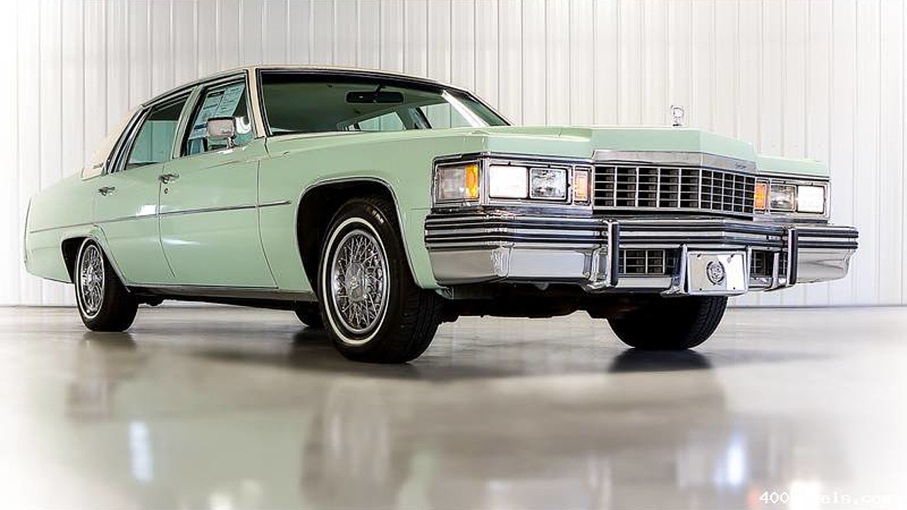 1977 Cadillac De Ville for sale 100736925