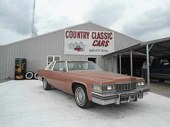 1977 Cadillac De Ville for sale 100748588