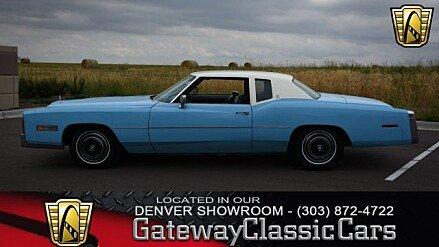 1977 Cadillac Eldorado for sale 100919883