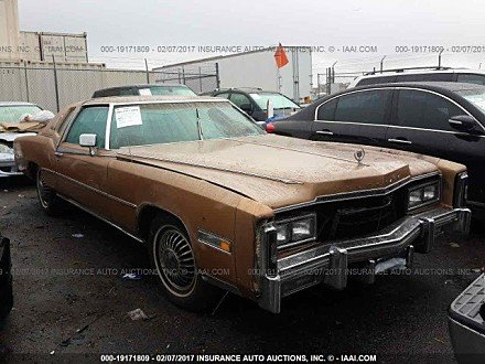 1977 Cadillac Eldorado for sale 101015033