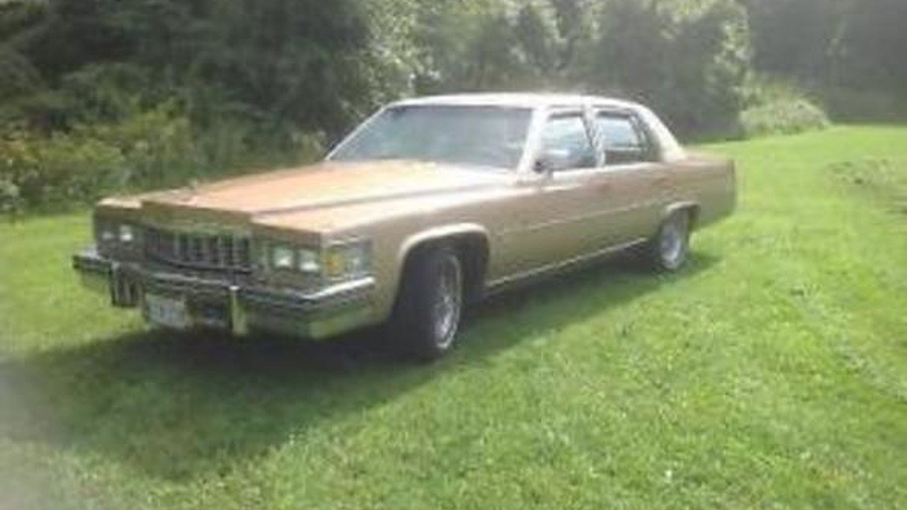 1977 Cadillac Fleetwood for sale 100791587