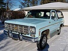 1977 Chevrolet Blazer 4WD 2-Door for sale 100940281
