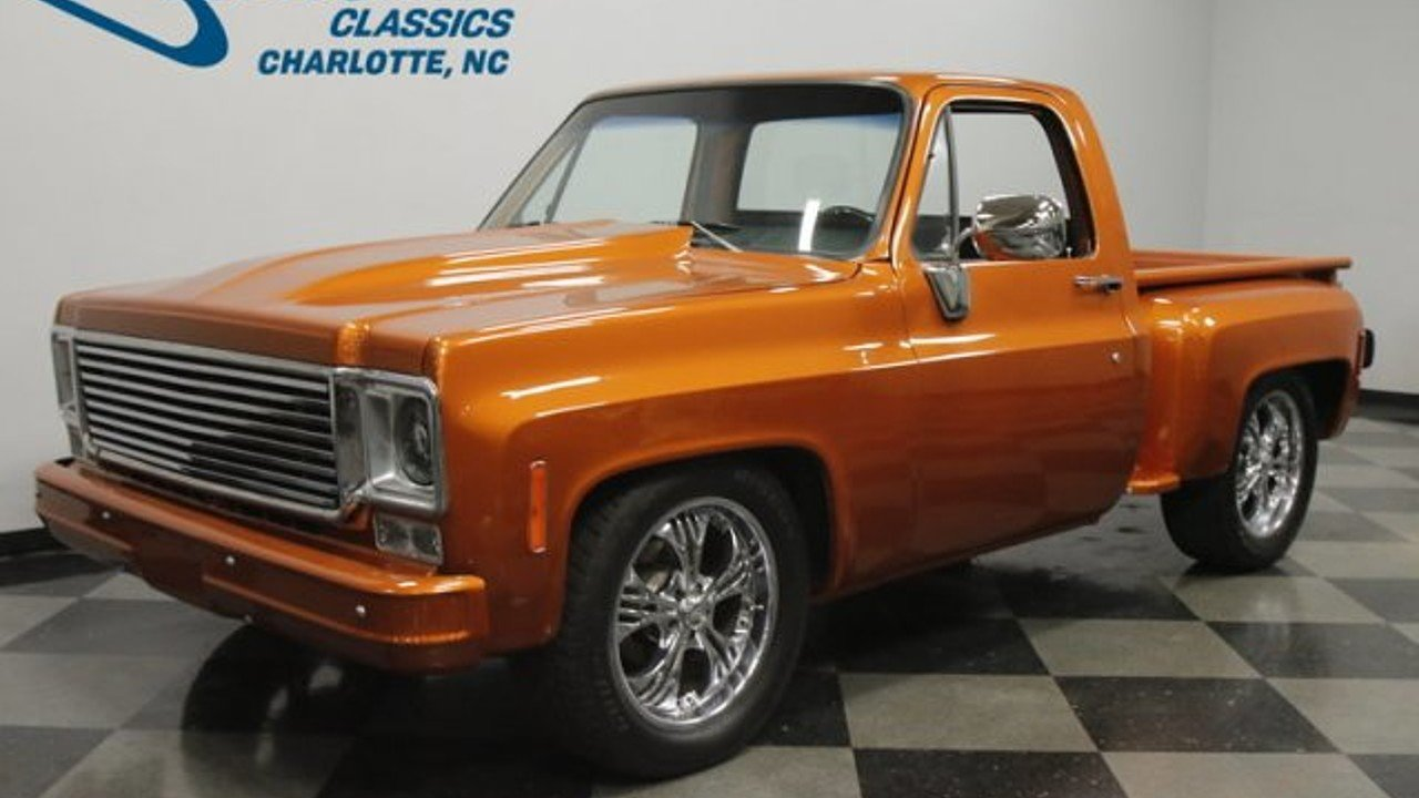 1977 Chevrolet C/K Truck Custom Deluxe for sale near Concord ...