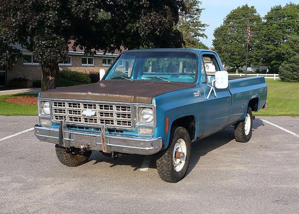 1977 chevrolet c k trucks for sale near silver creek minnesota 55358 autotrader classics. Black Bedroom Furniture Sets. Home Design Ideas