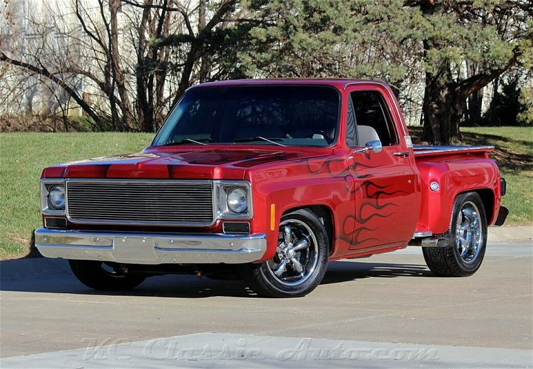 1977 chevrolet c k trucks for sale near lenexa kansas 66219 classics on autotrader. Black Bedroom Furniture Sets. Home Design Ideas