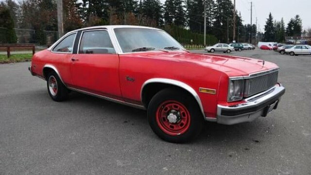 1977 Chevrolet Nova for sale 100839823
