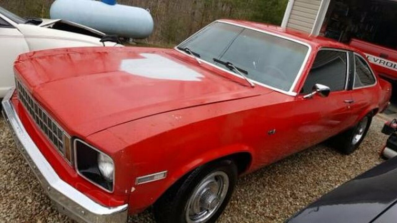 1977 Chevrolet Nova for sale 100923609