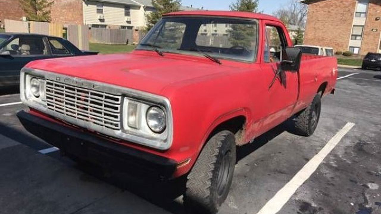 1977 Dodge D W Truck Classics For Sale On Autotrader 1976 Chevy Spirit Of 76 100857341