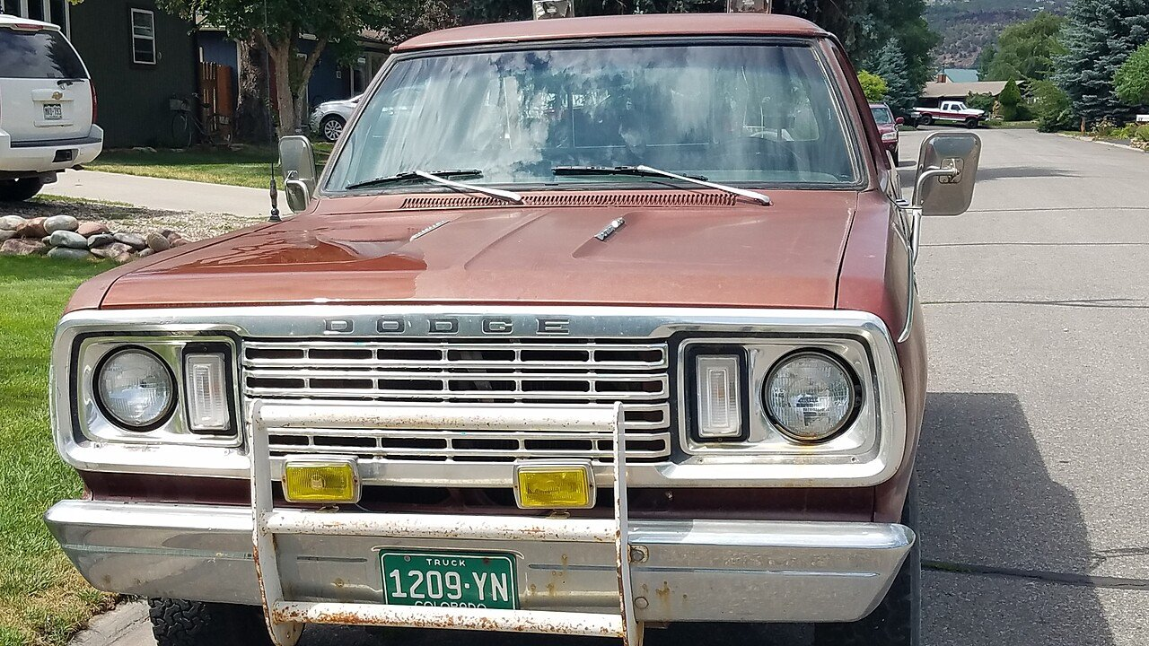 1977 Dodge D/W Truck 4x4 Regular Cab W-100 for sale 101010008