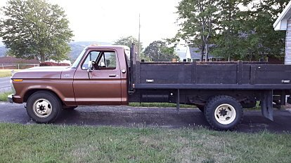 1977 Ford F350 2WD Regular Cab for sale 100929808