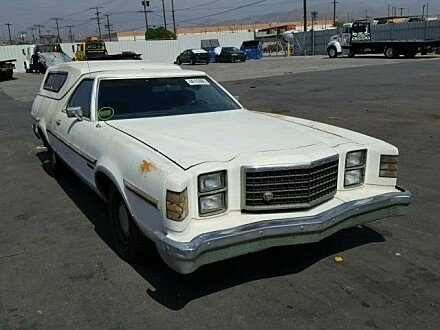 1977 Ford Ranchero for sale 101033188