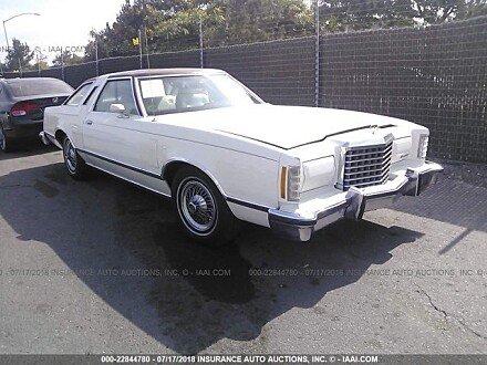 1977 Ford Thunderbird for sale 101016098