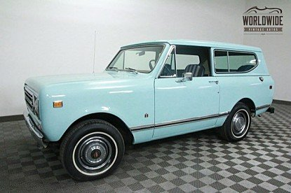 1977 International Harvester Scout for sale 100762450