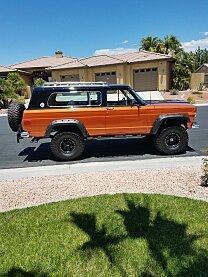 1977 Jeep Cherokee 4WD 2-Door for sale 100993754