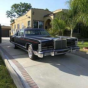 1977 Lincoln Continental for sale 100773190