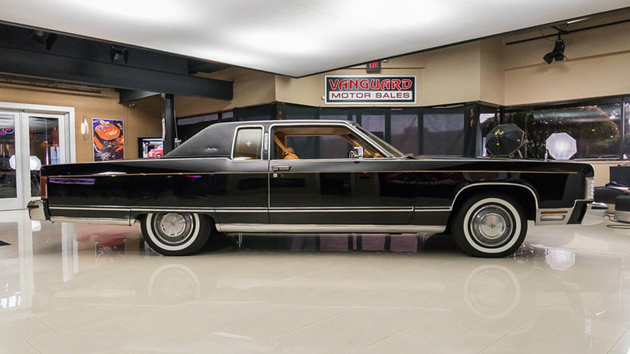 1977 Lincoln Continental for sale near Plymouth, Michigan 48170 ...