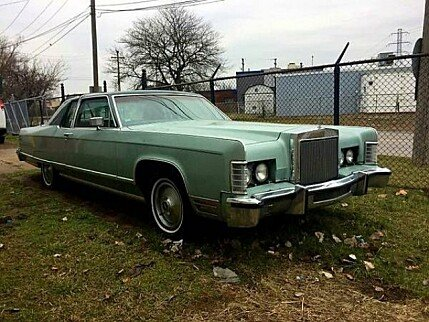 1977 Lincoln Continental for sale 100884864