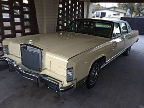 1977 Lincoln Continental for sale 100973881