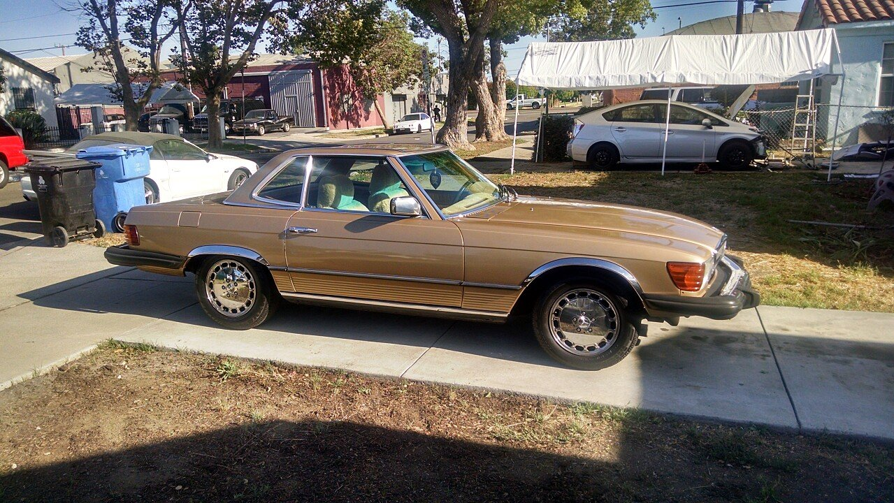 1977 mercedes benz 450sl for sale near los angeles for Mercedes benz for sale los angeles