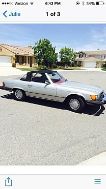 1977 Mercedes-Benz 450SL for sale 100876578