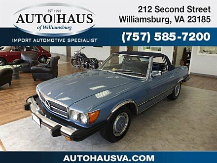 1977 Mercedes-Benz 450SL for sale 100909000
