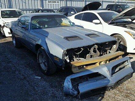 1977 Pontiac Firebird for sale 101054999