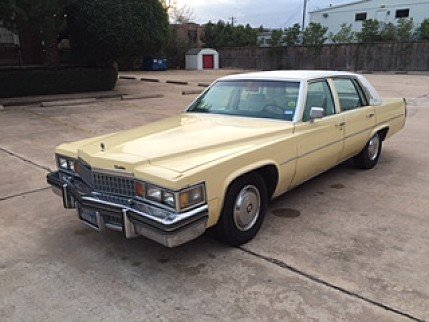 1978 Cadillac De Ville Sedan for sale 100836966
