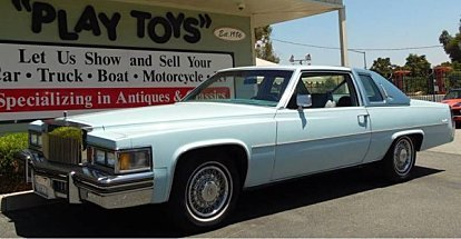 1978 Cadillac De Ville for sale 100893972