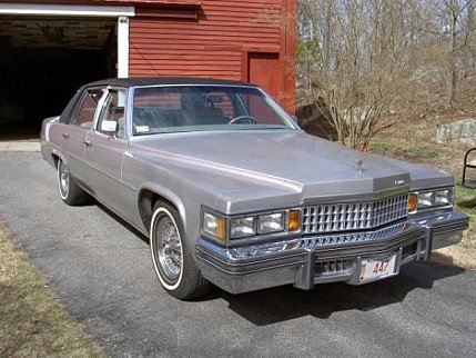 1978 Cadillac De Ville for sale 100915218