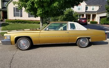1978 Cadillac De Ville for sale 101033228