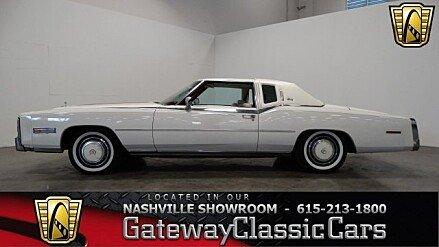 1978 Cadillac Eldorado for sale 100769975