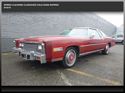 1978 Cadillac Eldorado for sale 100879176