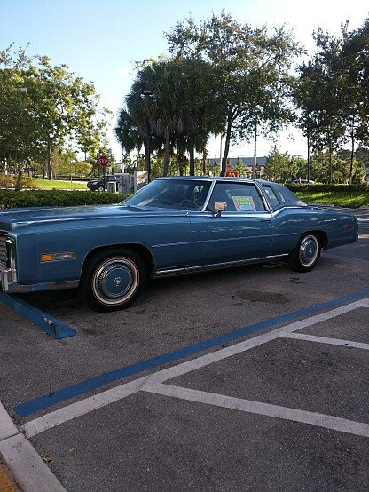 1978 Cadillac Eldorado Coupe for sale 100911555