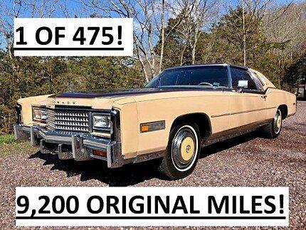 1978 Cadillac Eldorado for sale 101016387