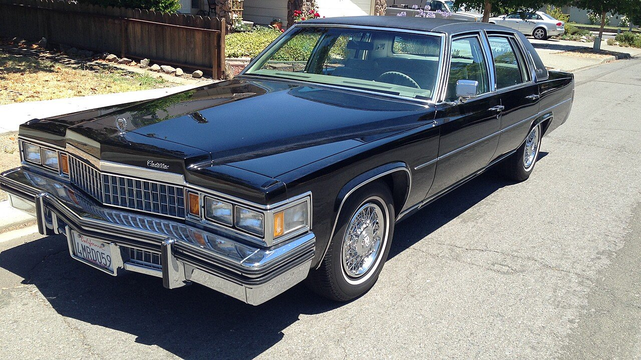 1978 Cadillac Fleetwood Brougham Sedan for sale 100856900