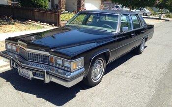 1978 Cadillac Fleetwood Brougham Sedan for sale 100856900