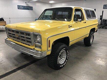 1978 Chevrolet Blazer for sale 100945901