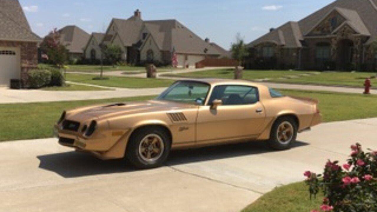 1978 Chevrolet Camaro for sale near Ovilla, Texas 75154 - Classics ...