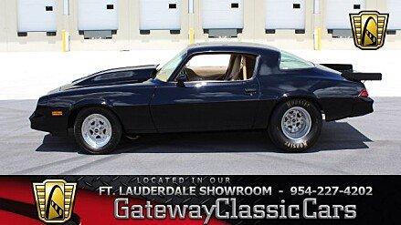 1978 Chevrolet Camaro for sale 100996509