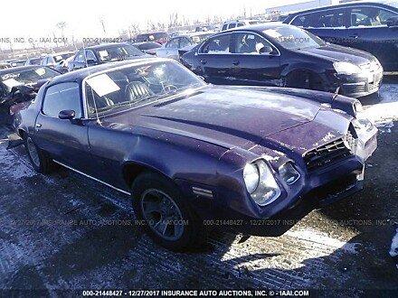 1978 Chevrolet Camaro for sale 101015223