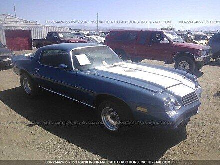 1978 Chevrolet Camaro for sale 101015224