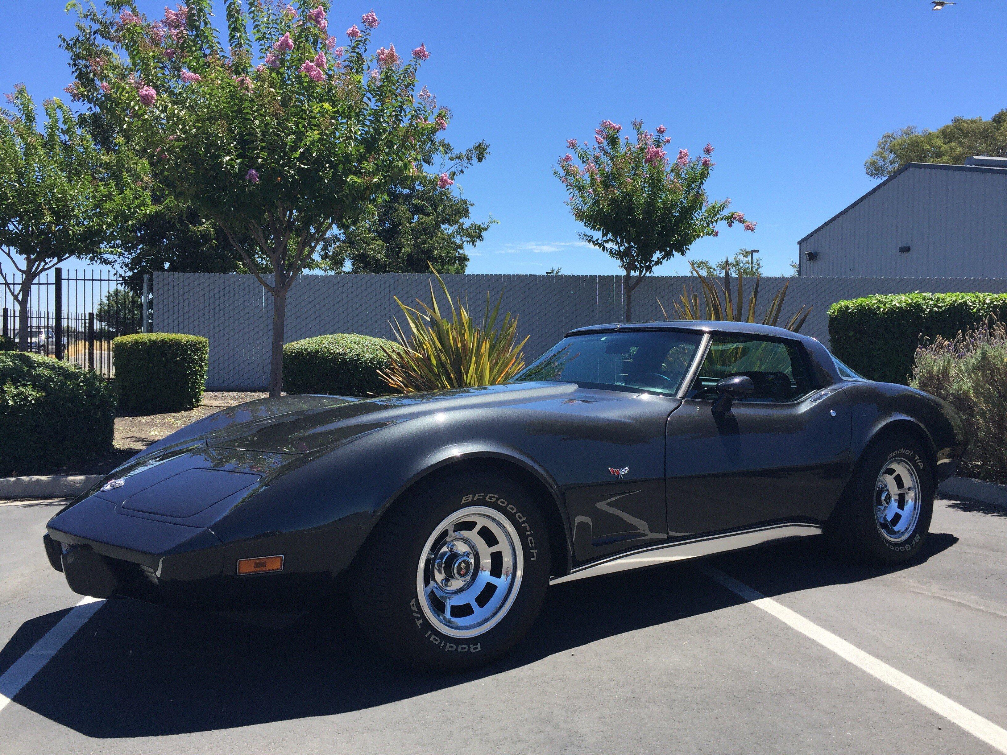 1978 corvette price