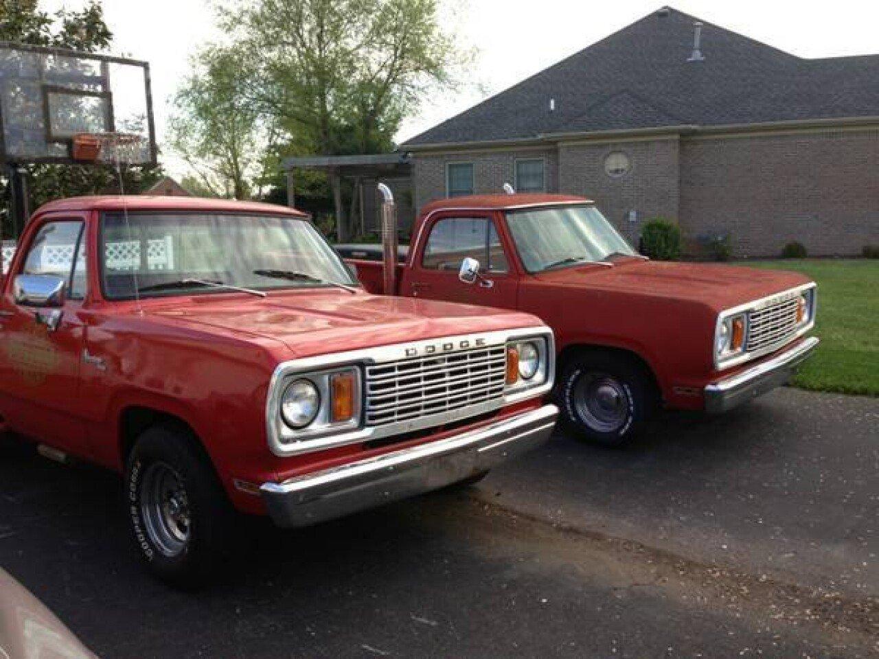 1978 Dodge Li L Red Express For Sale Near Wilkes Barre