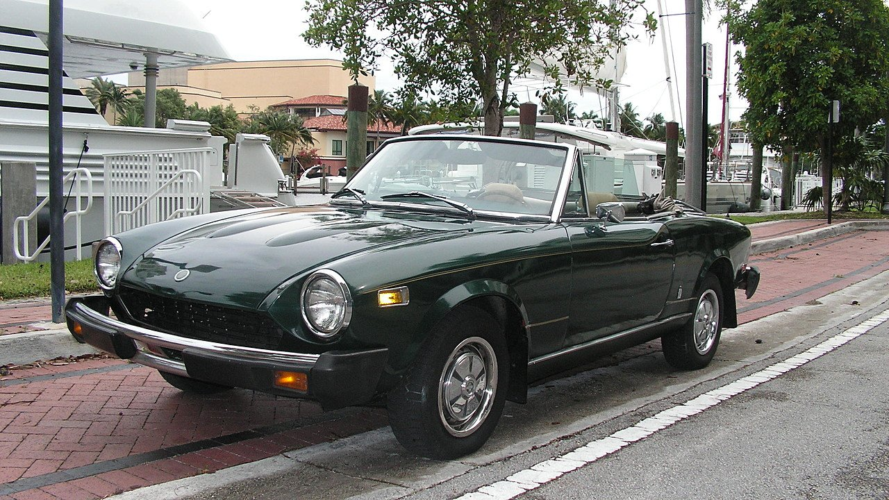 1978 FIAT Spider for sale 100917026