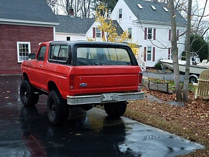 1978 Ford Bronco for sale 100930026