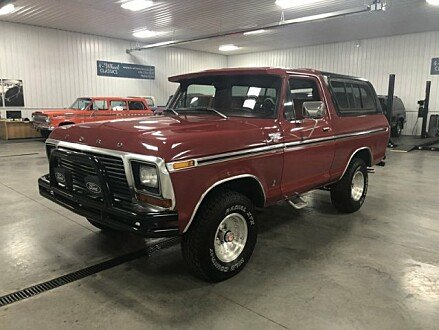 1978 Ford Bronco for sale 101000048