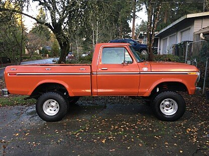1978 Ford F150 4x4 Regular Cab for sale 100930528